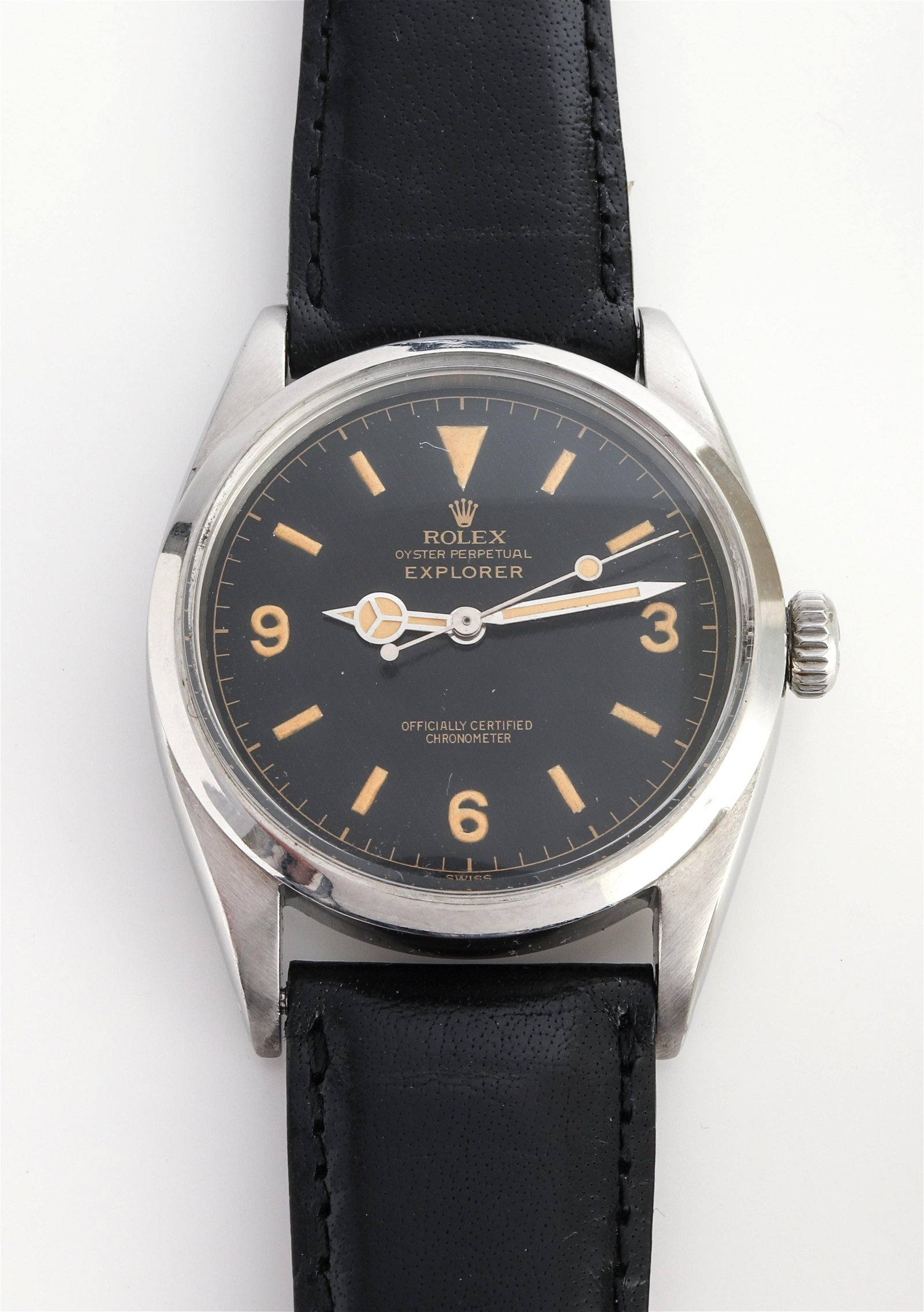 Rolex Explorer Oyster Perpetual Chronometer Watch