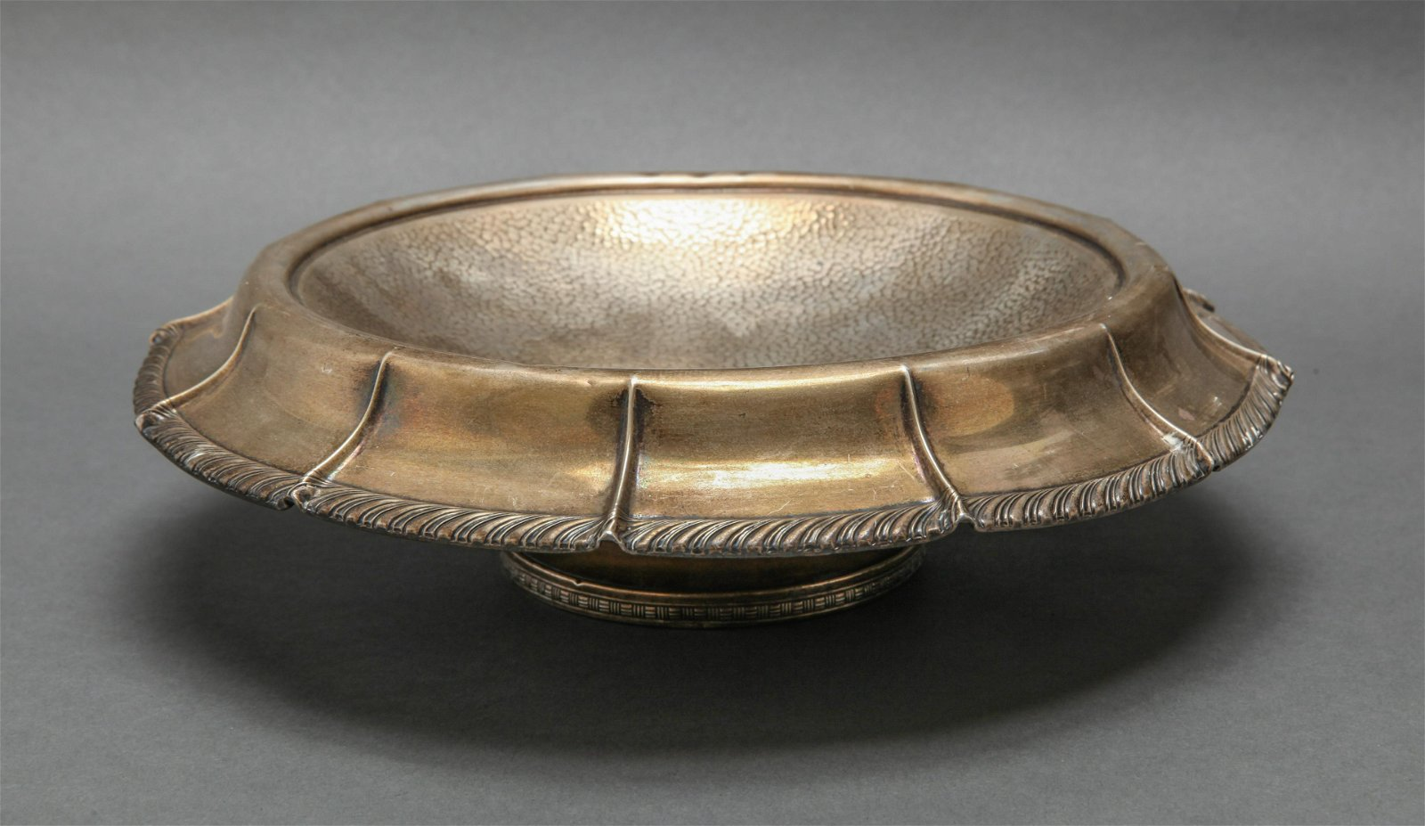 Webster Co. Silver Hammered Compote / Tazza