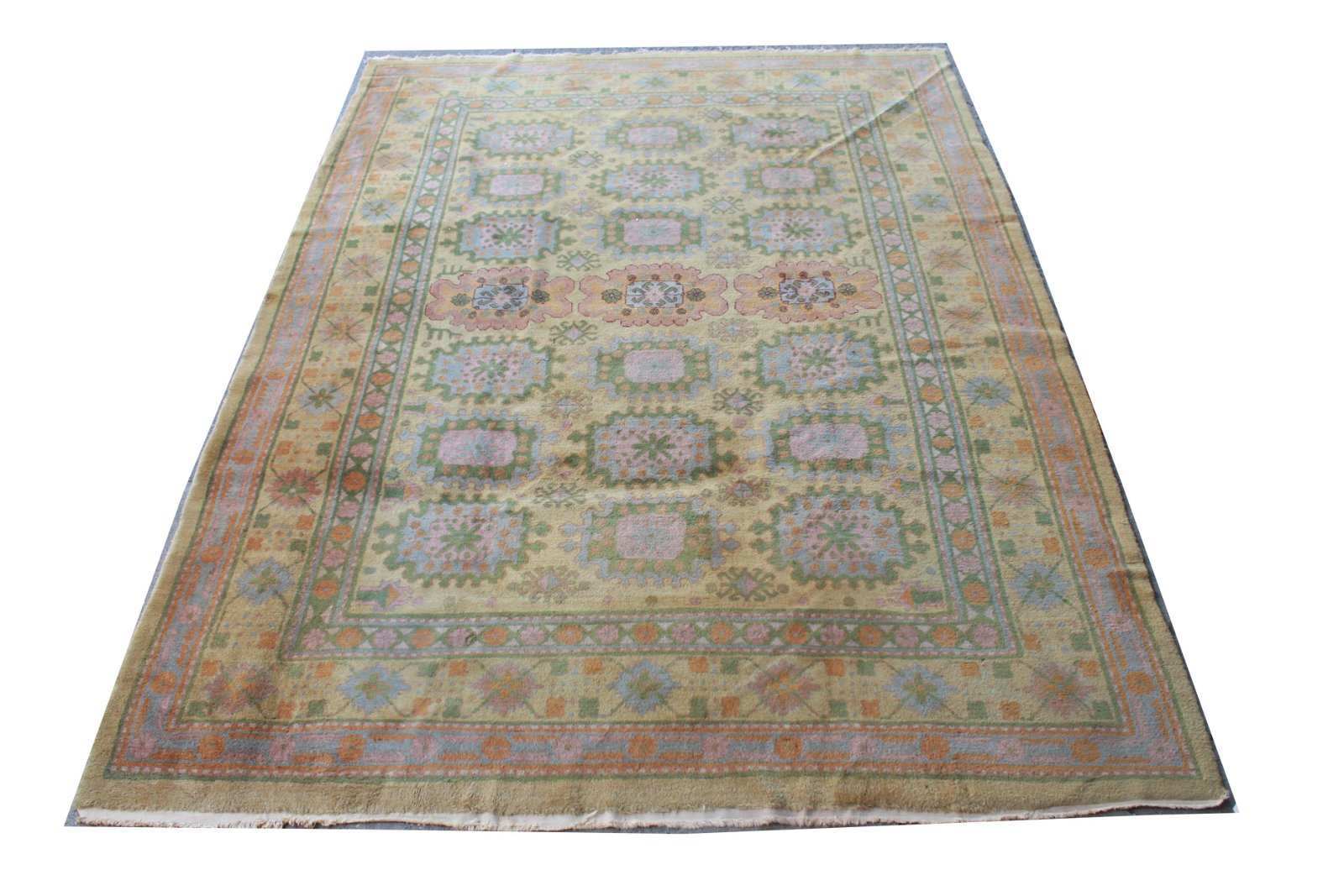 """Oushak Persian Carpet 8' 7"""" x 12'"""