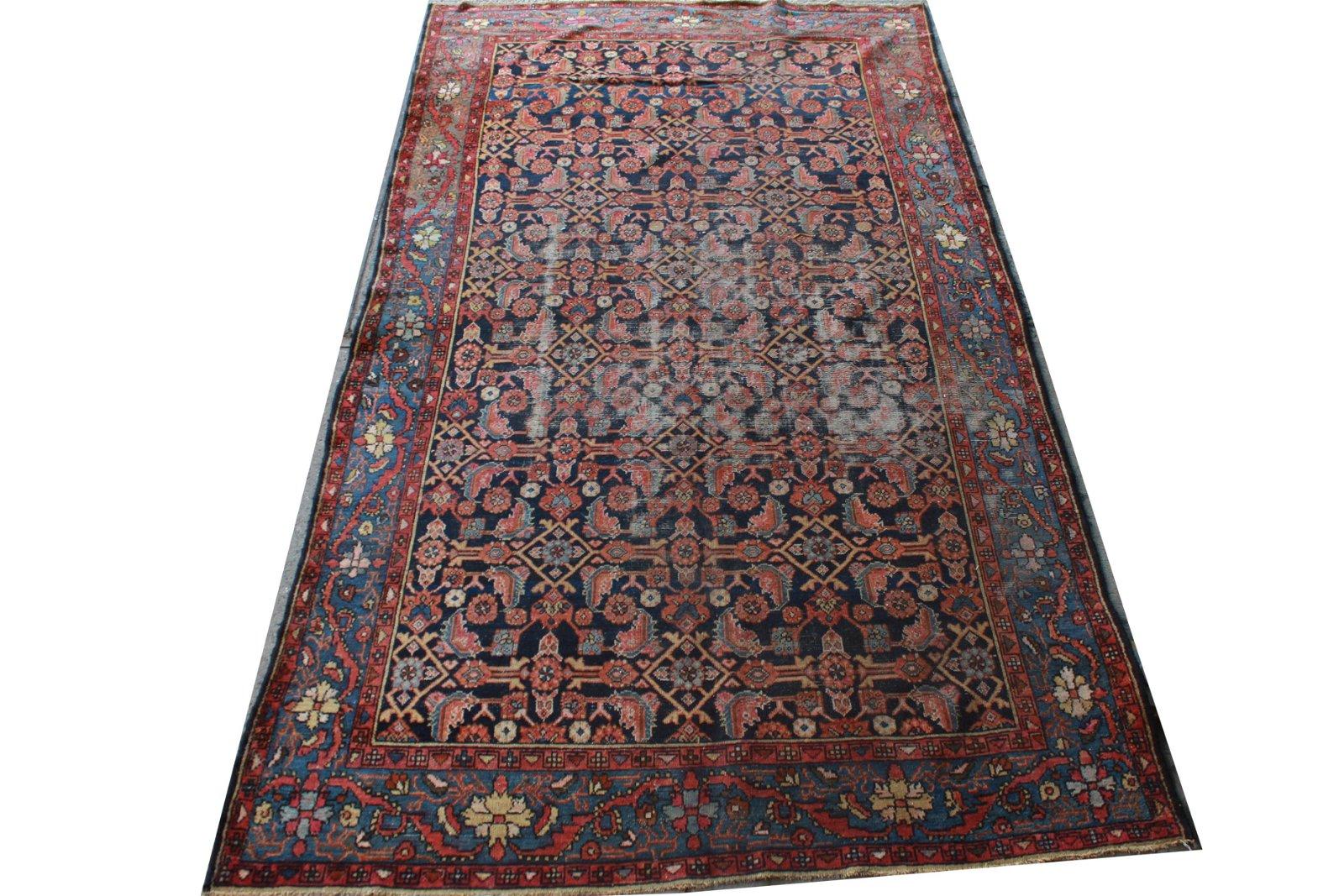 """Persian Herati Carpet 6' 11"""" x 9' 9"""""""