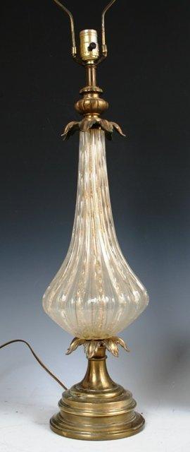 3001: Italian Art Glass Lamp
