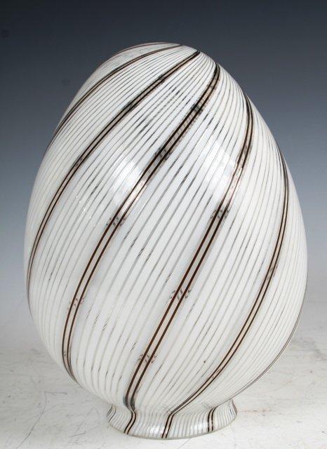 3005: Dino Martens A Toso Art Glass Pendant Shade