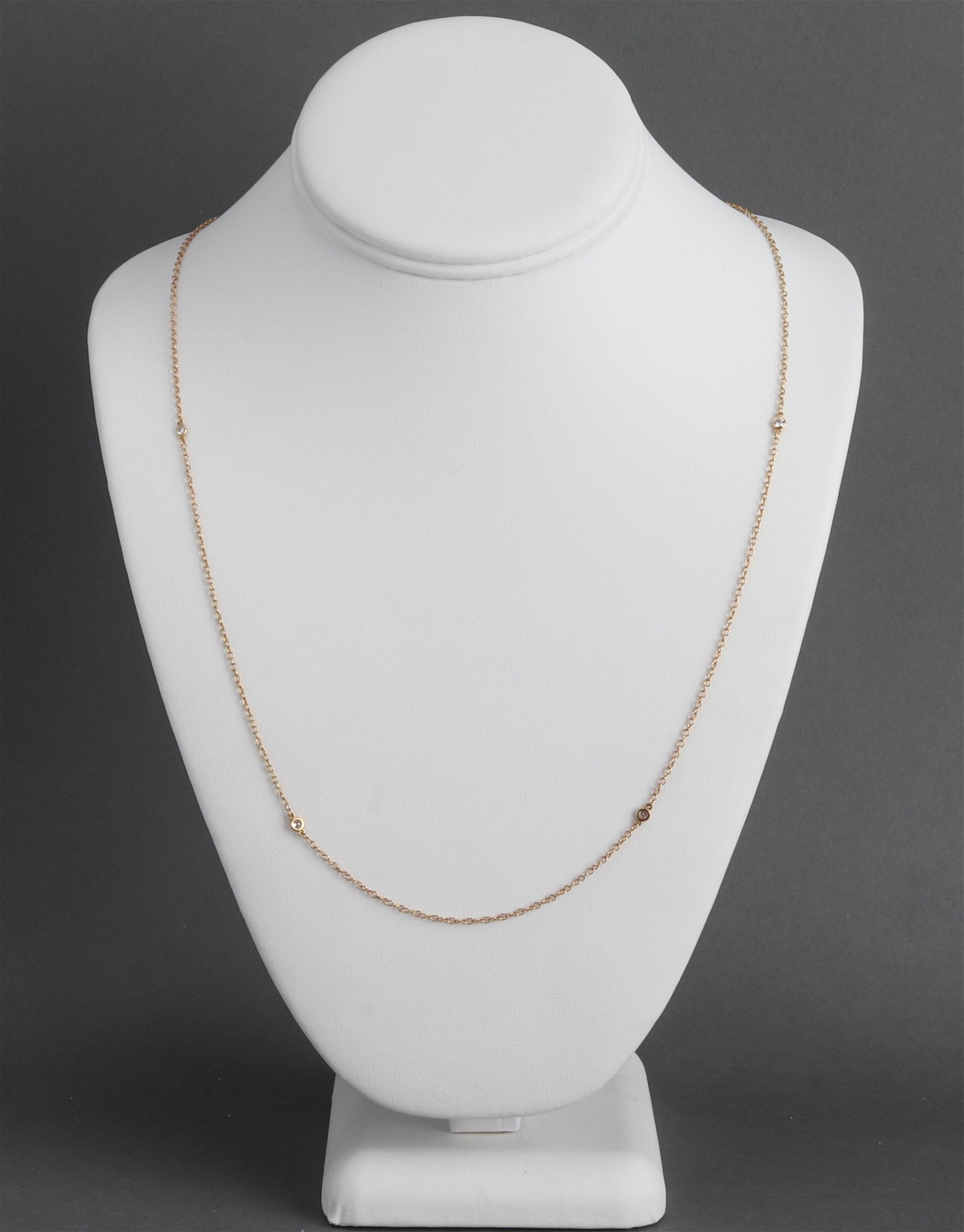 Tiffany & Co. 18K Yellow Gold & Diamond Necklace
