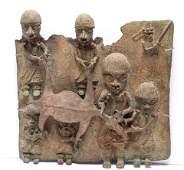Benin Bronze Plaque Reproduction