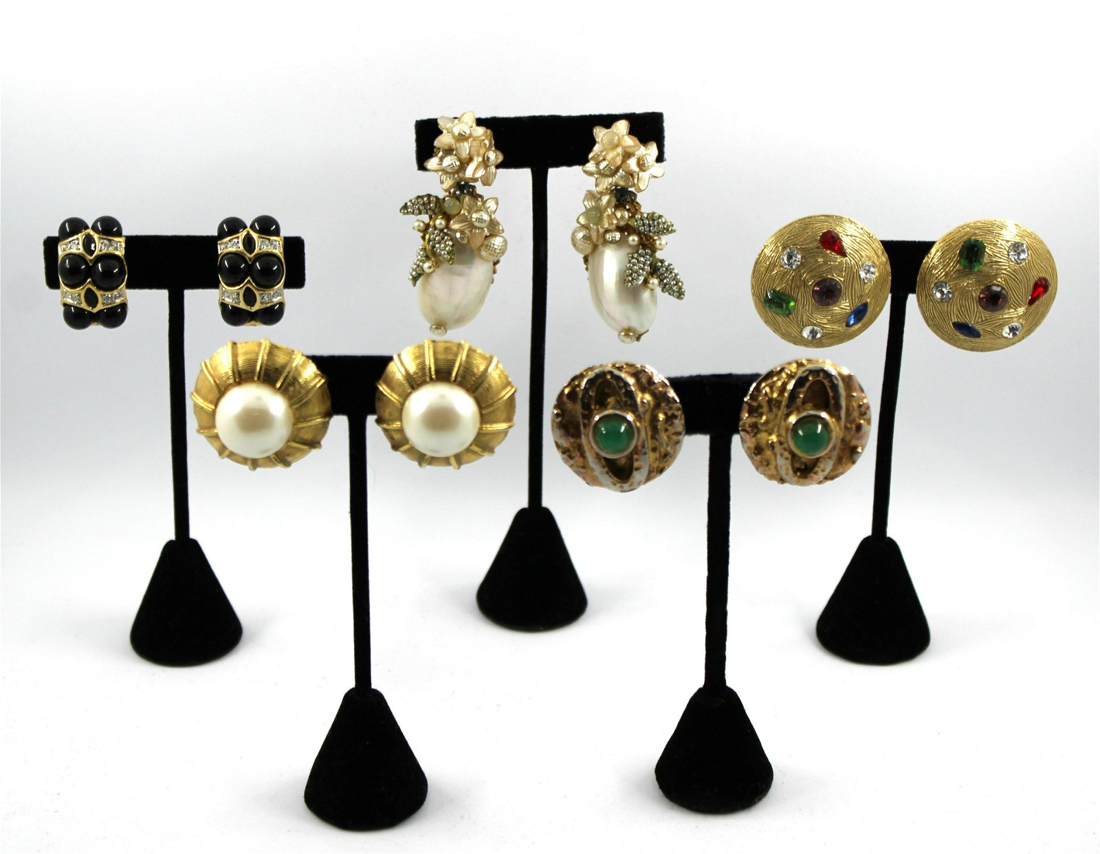 Miriam Haskell, Donald Stannard & Other Earrings
