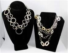 Italin  Other Silver Chain Link Necklaces 4