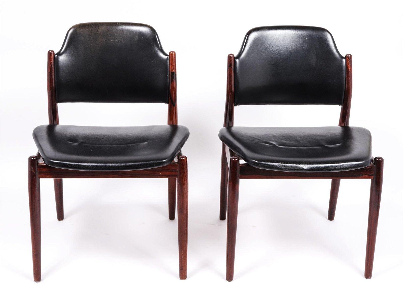 Arne Vodder for Sibast Danish Modern Side Chairs