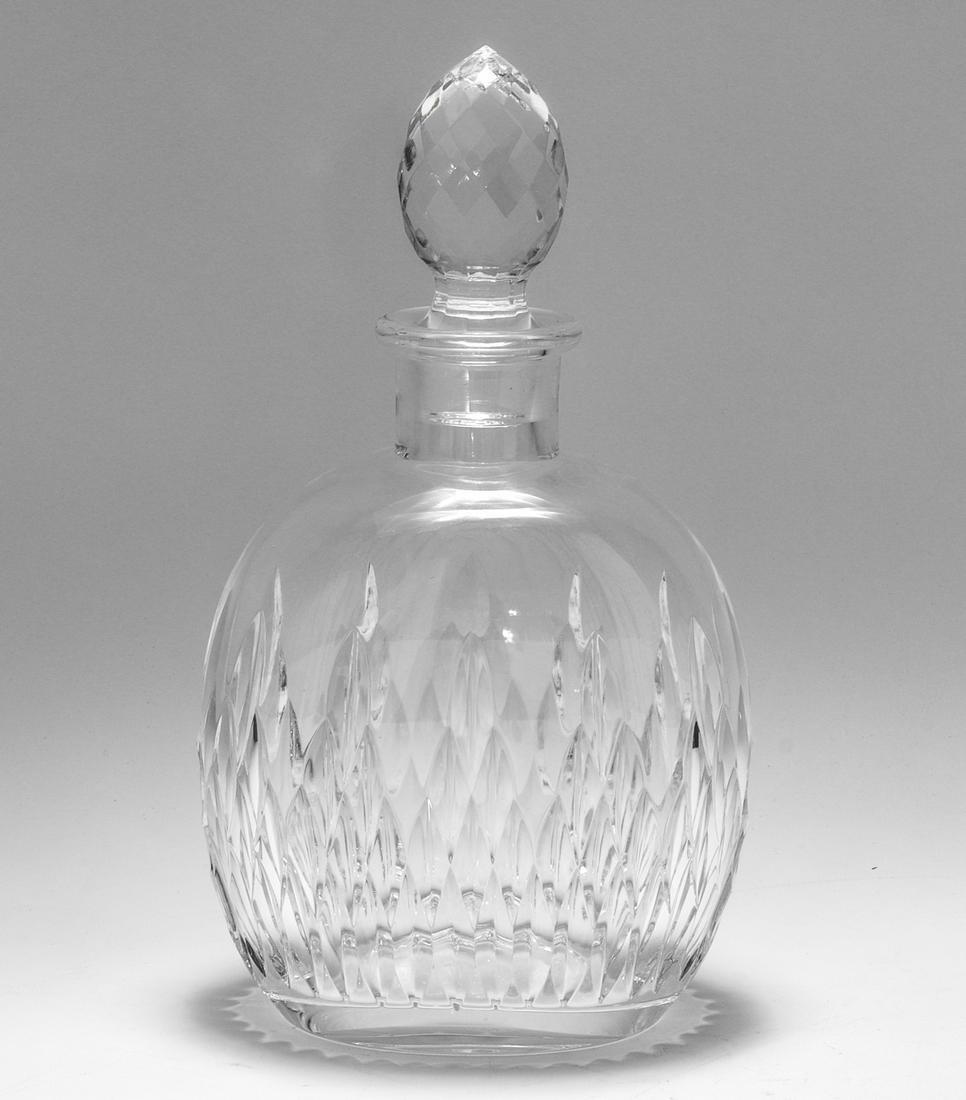 Baccarat for Tiffany & Co. Cut Crystal Decanter