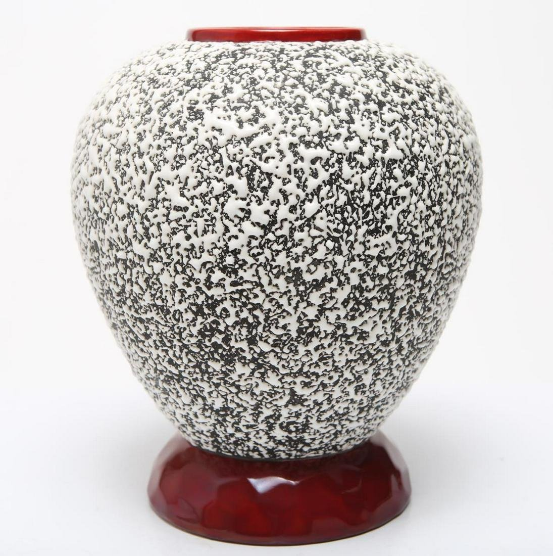 Art Deco Sevres Ceramic Vase by Paul Milet, 1930s