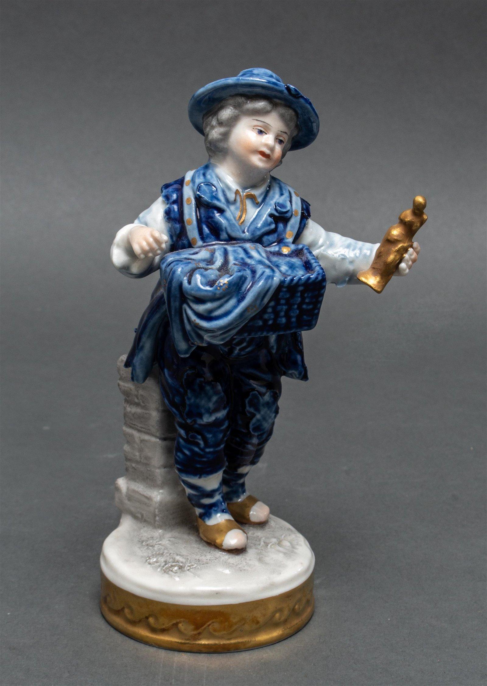 Volkstedt German Porcelain Figurine