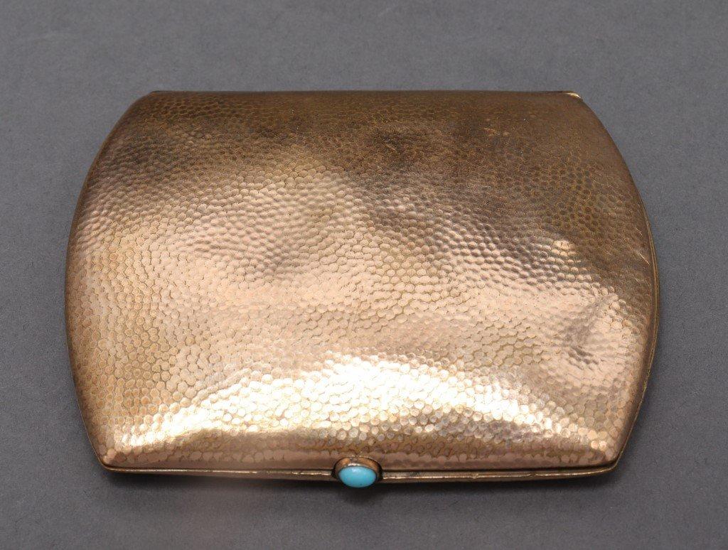 Art Deco Rolled Gold Cigarette Case