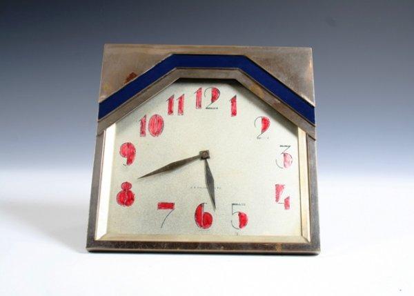 7: J.E. Caldwell Art Deco Mantel Clock