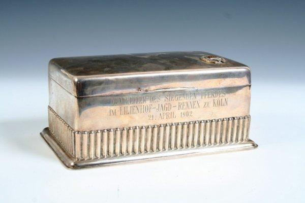 21: Carl Becker Sterling Silver Box 1902 Germany