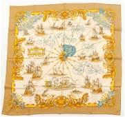 Hermes Voiles de Lumiere Silk Scarf