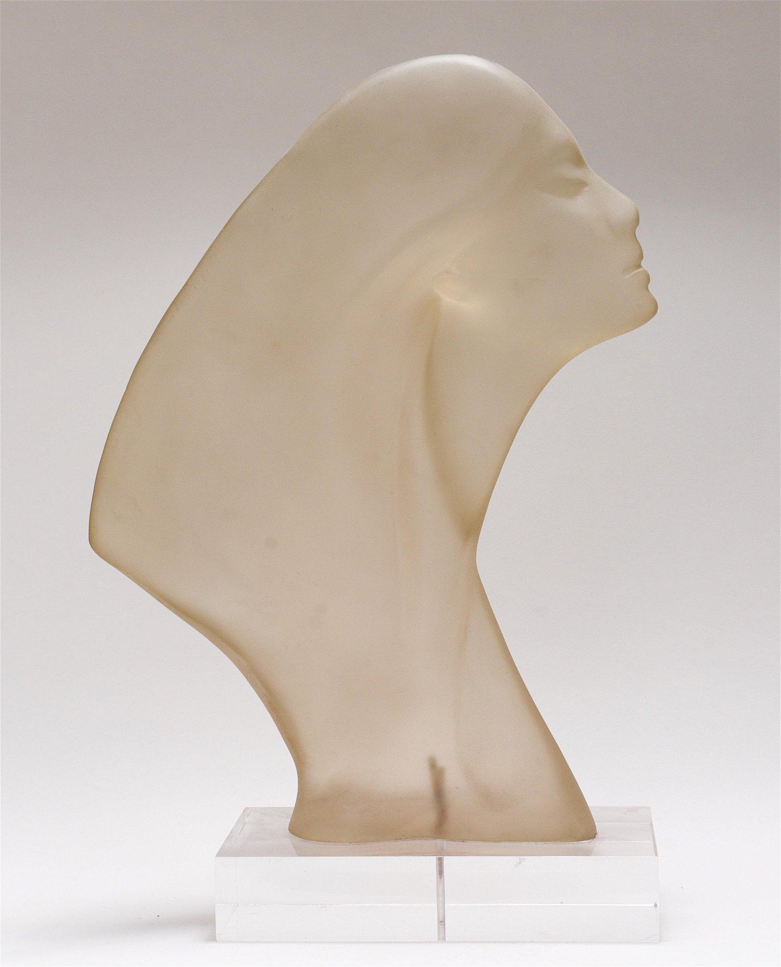 Otto Kramer Mid-Century Modern Acrylic Sculpture