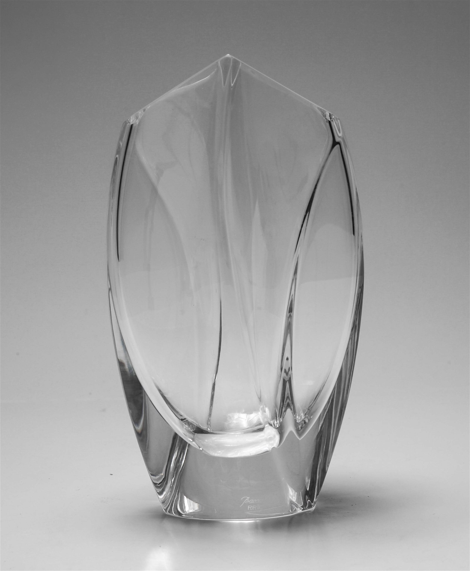 "Robert Rigot for Baccarat ""Giverny"" Crystal Vase"