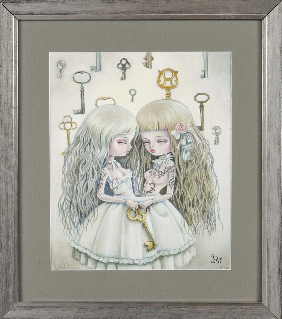 "Kukula ""The Right Key"" Limited Edition Print"
