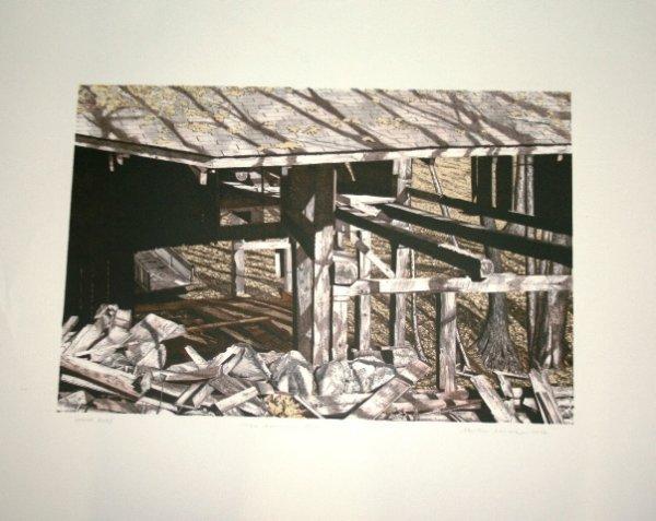 1004: Two Martin Levine Prints - Artist Proof 1978