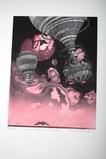 1007: Original Print by Kerslake 1999