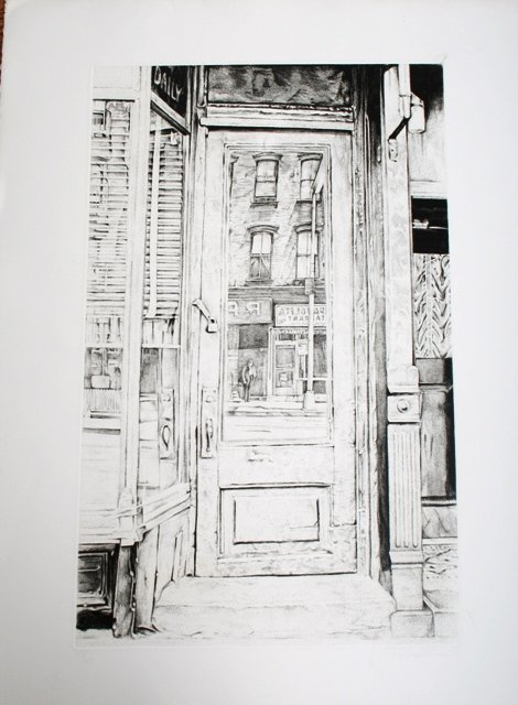 1008: Two Etchings by Michael Kirk