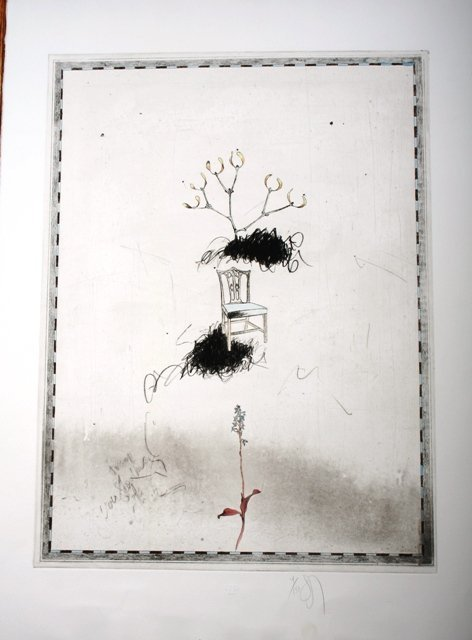 1017: Two Signed Donald Saff Etchings