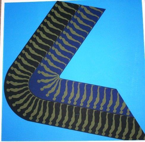 1028: Signed Ernst Trova Original Print 1967