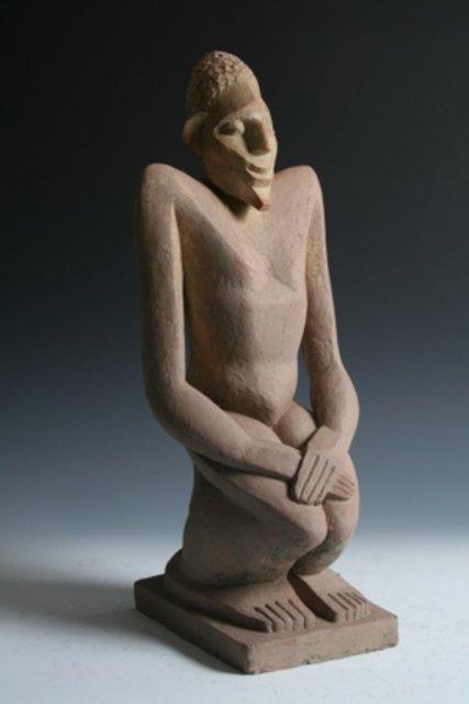 2098: A F Trank WPA Plaster Sculpture 1931