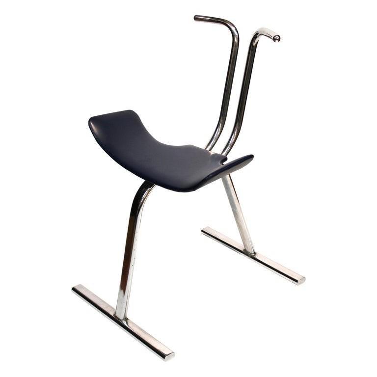 Stendig Scandinavian Modern Chrome Chair