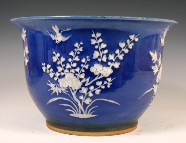 3: 19th C large Chinese Porcelain Flower Pot