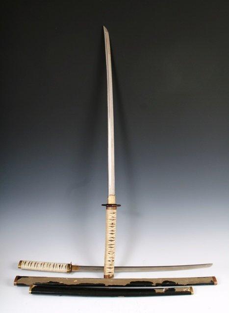 18: Two Meiji Period Japanese Swords