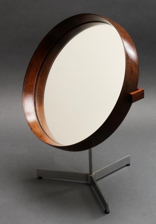 Uno & Osten Kristiansson for Luxus Table Mirror
