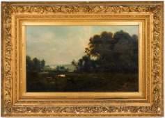 Patrick Vincent Berry Pastoral Landscape Oil