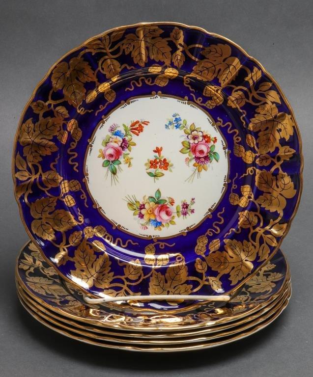 Mason's For Tiffany & Co Ironstone Dinner Plates 5