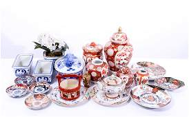 Chinese & Japanese Assorted Porcelain Items 21 Pcs