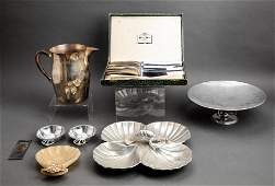 Group Of Contemporary Serving Pieces, 7