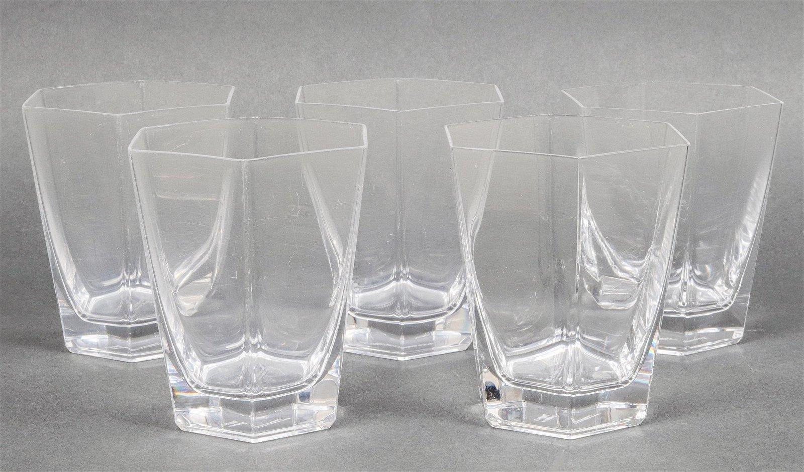 Tiffany & Co. Frank Lloyd Wright Rocks Glasses, 5