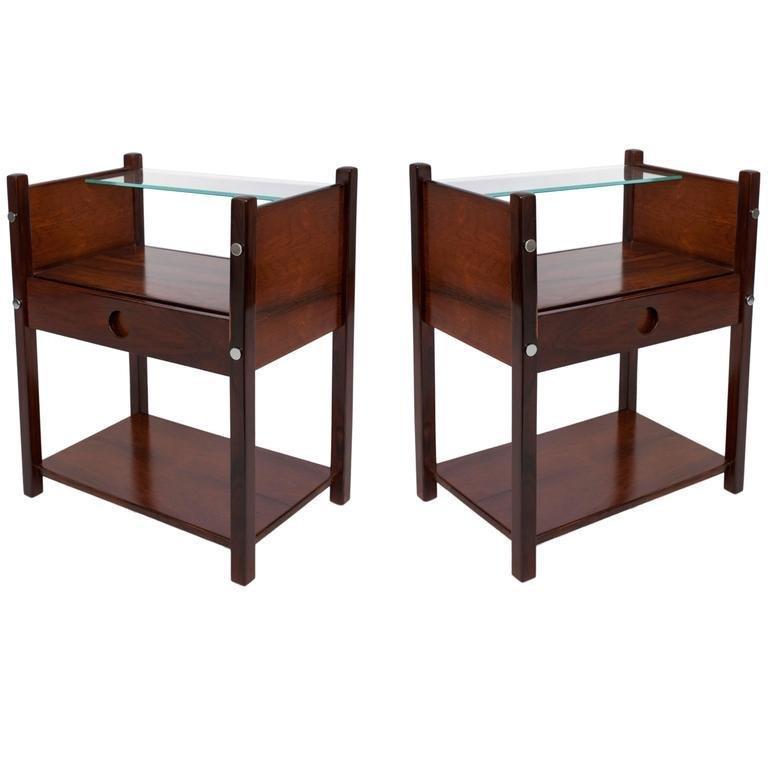 "Sergio Rodrigues Brazilian Modern ""Yara"" Tables Pr"
