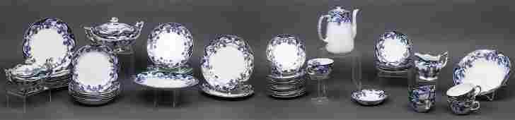 "Royal Staffordshire ""Iris"" Partial Dinner Set, 62"