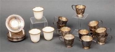 Gorham Sterling Silver Demitasse Set for 12