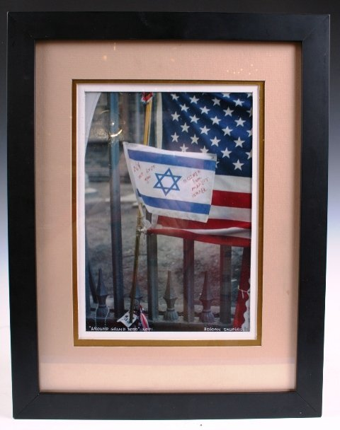 14: 2001 NY Ground Zero Photo Signed by Artist