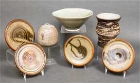 Misc MidCentury Art Pottery Vases Plates 7