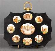Italian Grand Tour Micromosaic Plaque