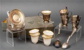 Gorham Sterling Silver Demitasse Set for 6