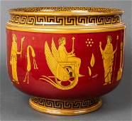 Royal Doulton Greek Motif Ceramic Jardiniere