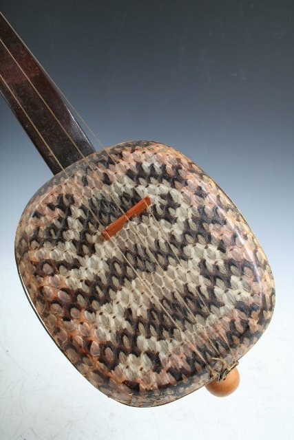 11: Chinese Sanxian 3-Stringed Musical Instrument - 5