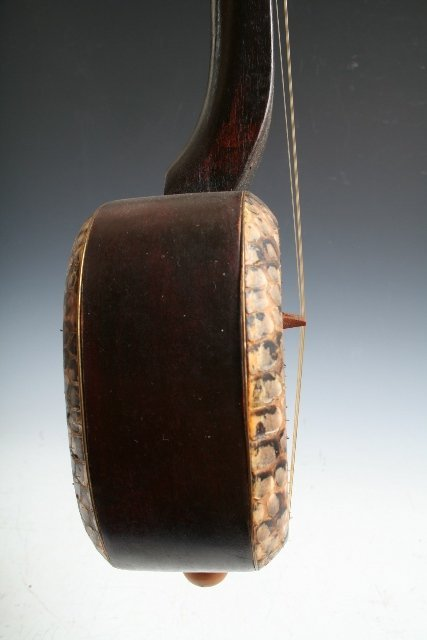11: Chinese Sanxian 3-Stringed Musical Instrument - 6