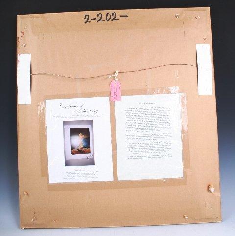 114: Salvador Dali Signature with Print - 4