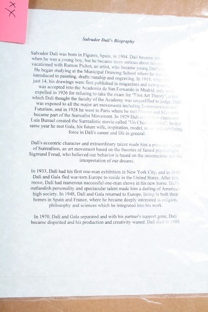 114: Salvador Dali Signature with Print - 6