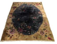 Chinese Nichols Art Deco Carpet 11 55 x 8 8
