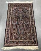 "Persian Floral Prayer Rug, 5' 1"" x 3' 0.5"""